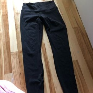 Lululemon size 8 high rise leggings. Worn a couple